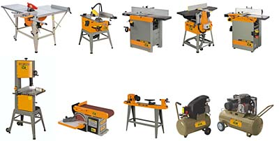Hobbi asztalos gépek