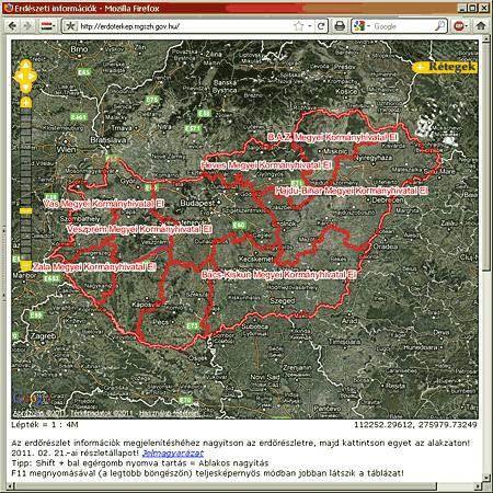 erdészeti térkép FATÁJ online __ Interaktív térképek: erdőgazdálkodás  erdészeti térkép